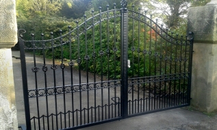 Traditional Ornamental Double Leaf Gates