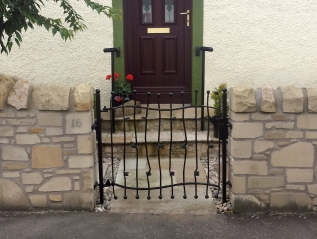 Modern single leaf gate