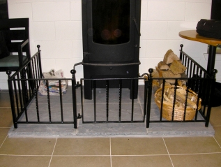 Stove & Hearth Railing